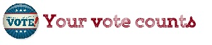 Maria E Andreu rocks the vote