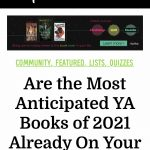 anticipated YA books of 2021