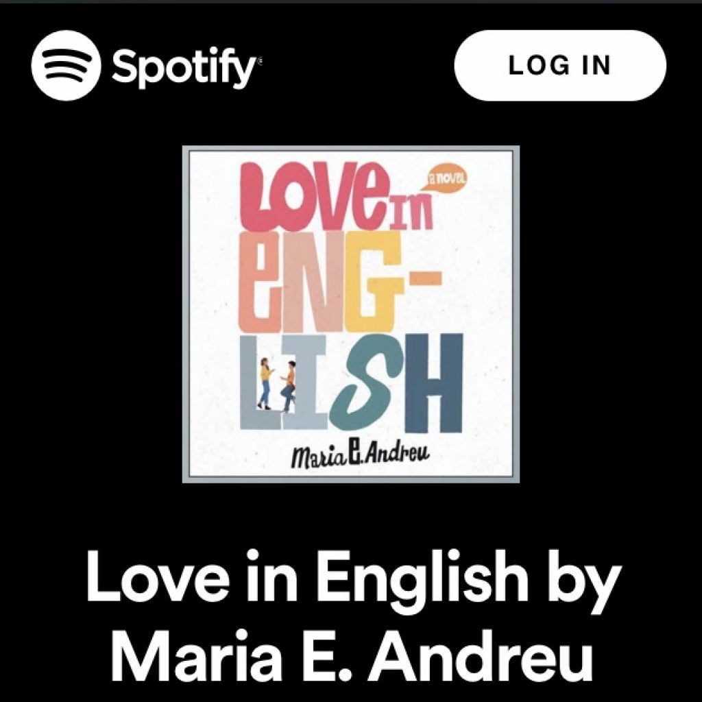 LOVE IN ENGLISH playlist